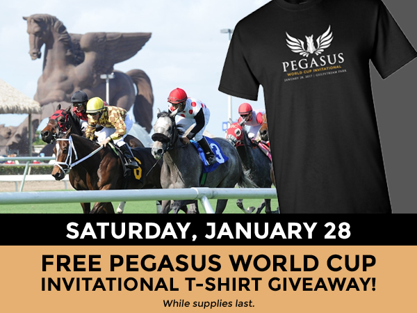 The Inaugural running of the Pegasus World Cup Invitational