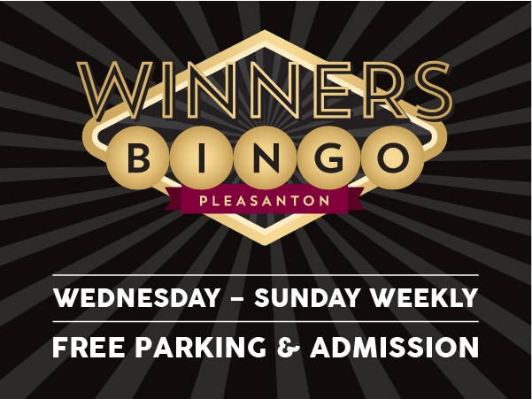 Bingo, Wednesday – Sunday