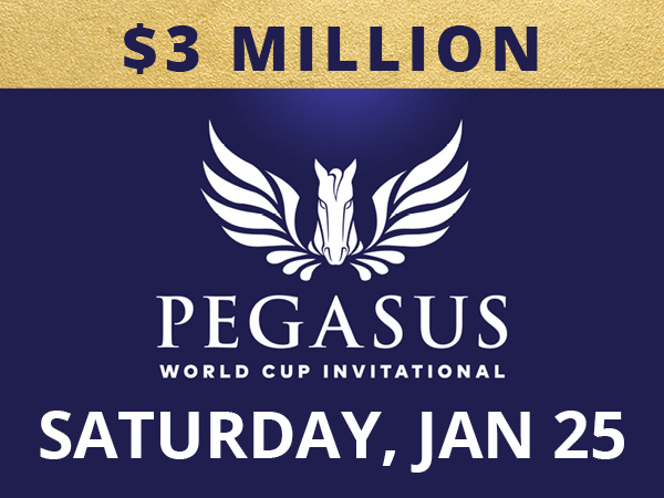 9 STAKES WORTH OVER $17 MILLION ON PEGASUS DAY