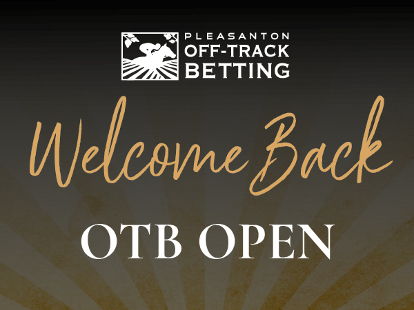 The Pleasanton Off-Track Betting Facility Is Open